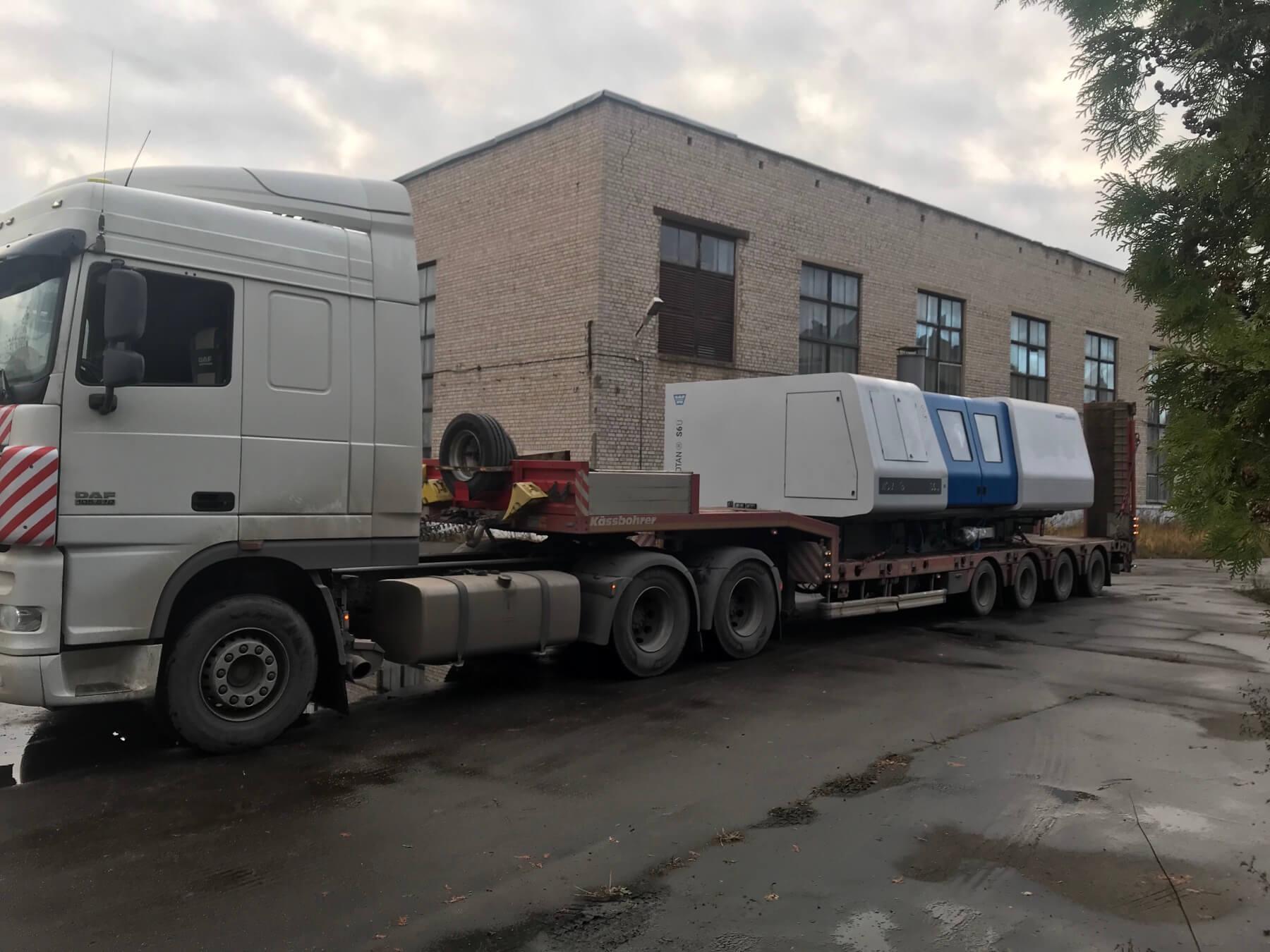 Перевозка оборудования в г.Пенза