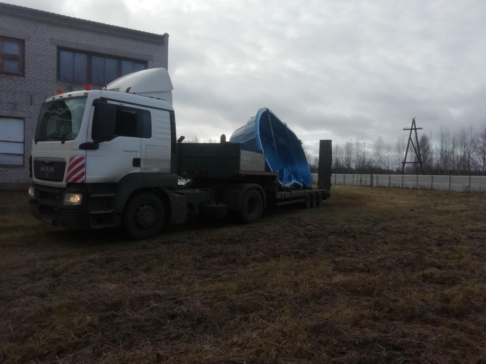 Перевозка бассейна в г. Подольск