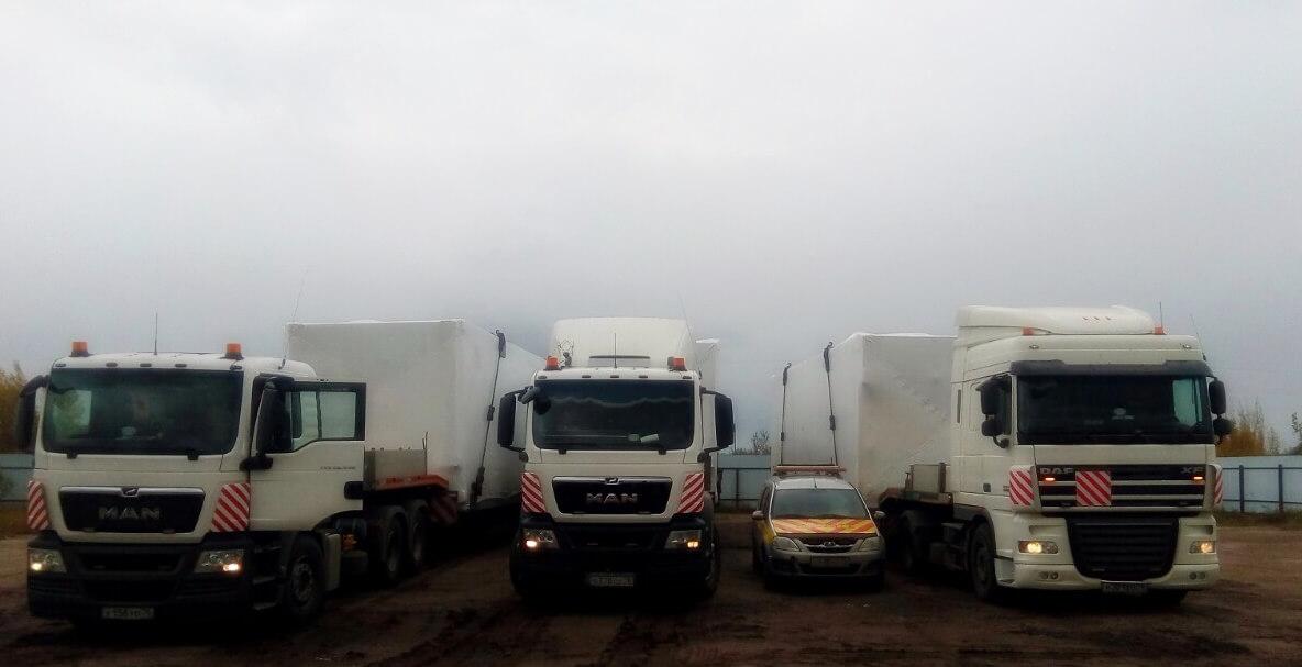 Перевозка Блоков осушки попутного нефтяного газа в Пермский край для ООО Лукойл-Пермь