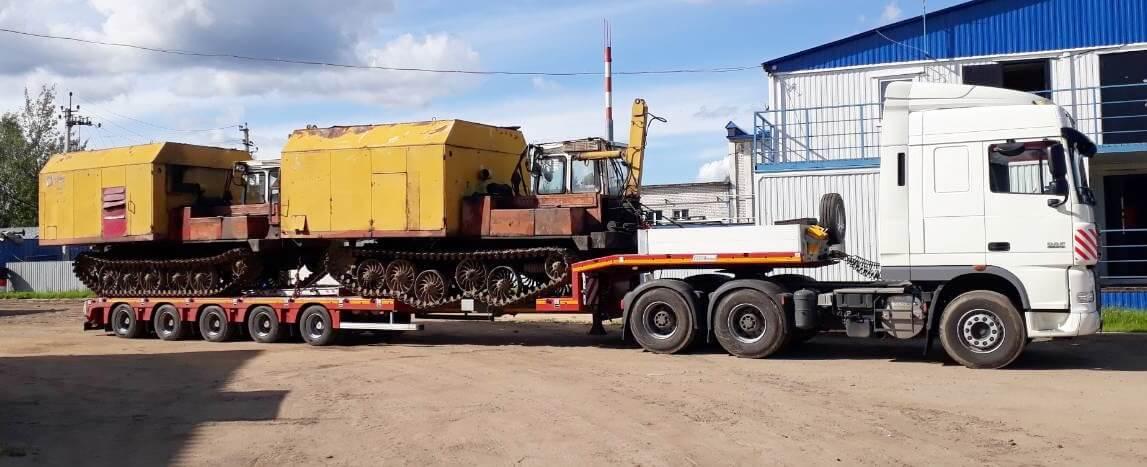 Перевозка Генераторов на строительные площадки ГЭС Вологодской области