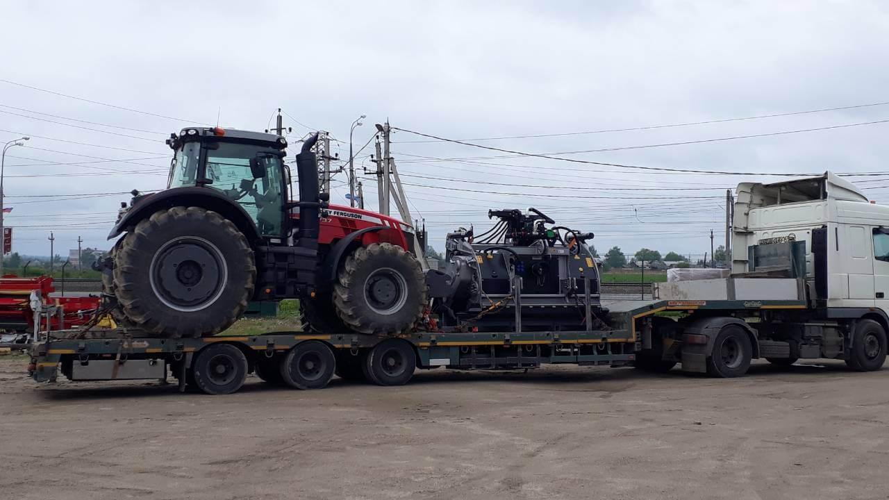 Перевозка сельскохозяйственной техники в Ленинградскую область