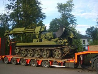 Перевозка военной техники Шевелюха в/ч 98537