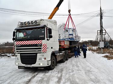 Перевозка катера СР-3 в речной порт г. Ярославль